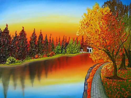 Autumn Over Drake Park #6