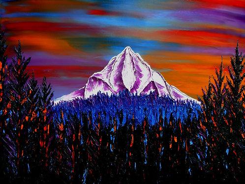 Mount Hood At Dusk #165