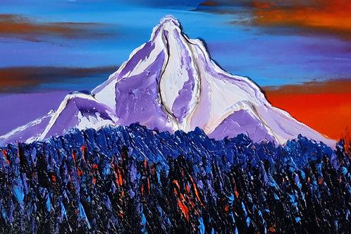 Mount Hood At Dusk #00