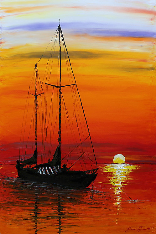Sunset Sails #16