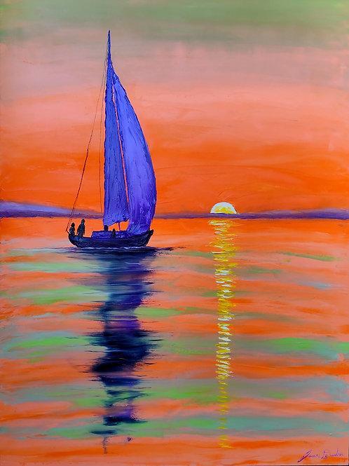 Orange Green Sails #2