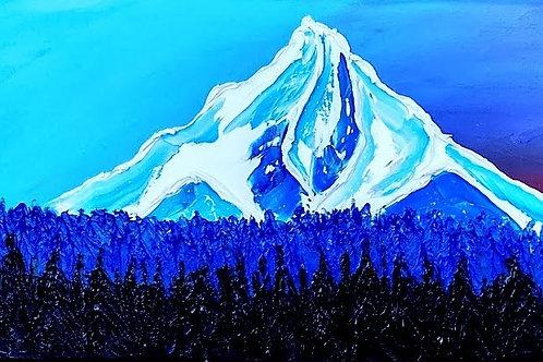Mount Hood At Dusk #167