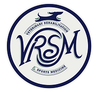 Veterinary rehabilitation and sports medicine logo.