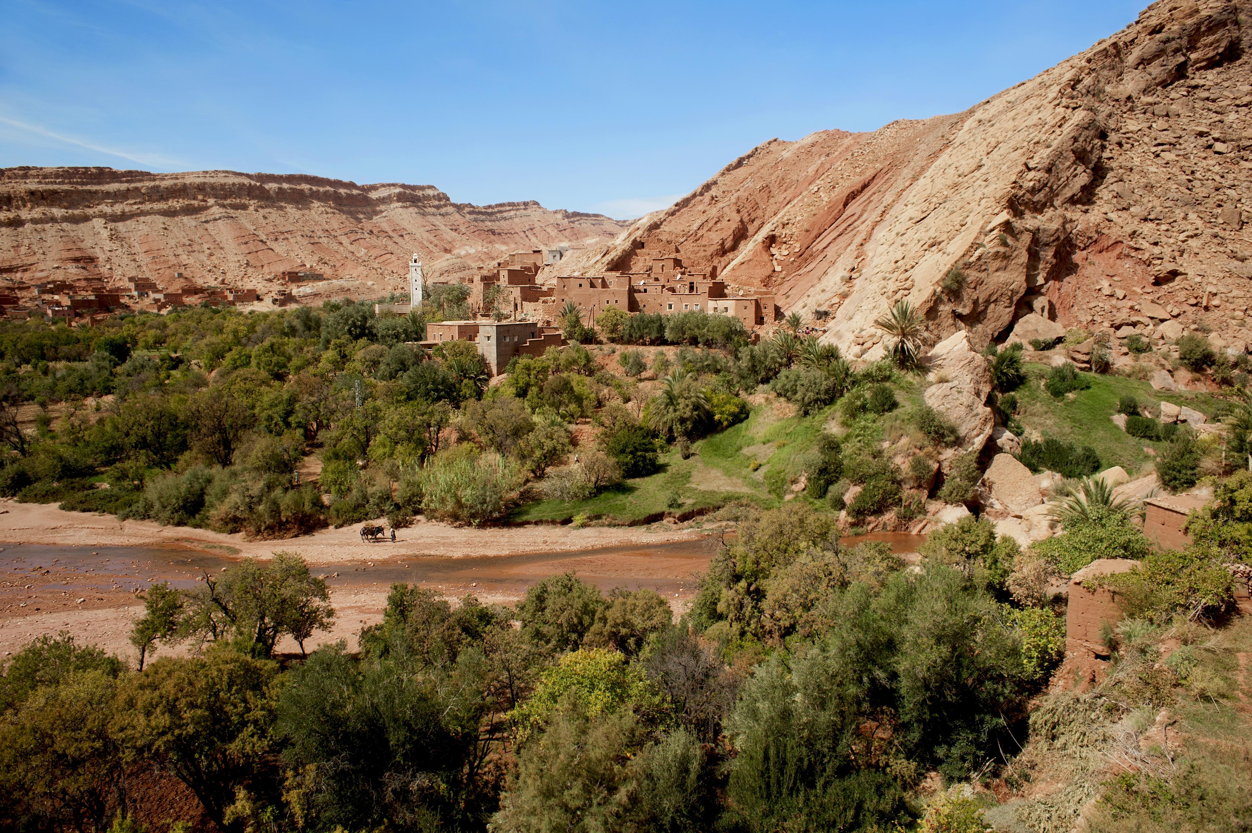 Achahoud village, Atlas Mountains
