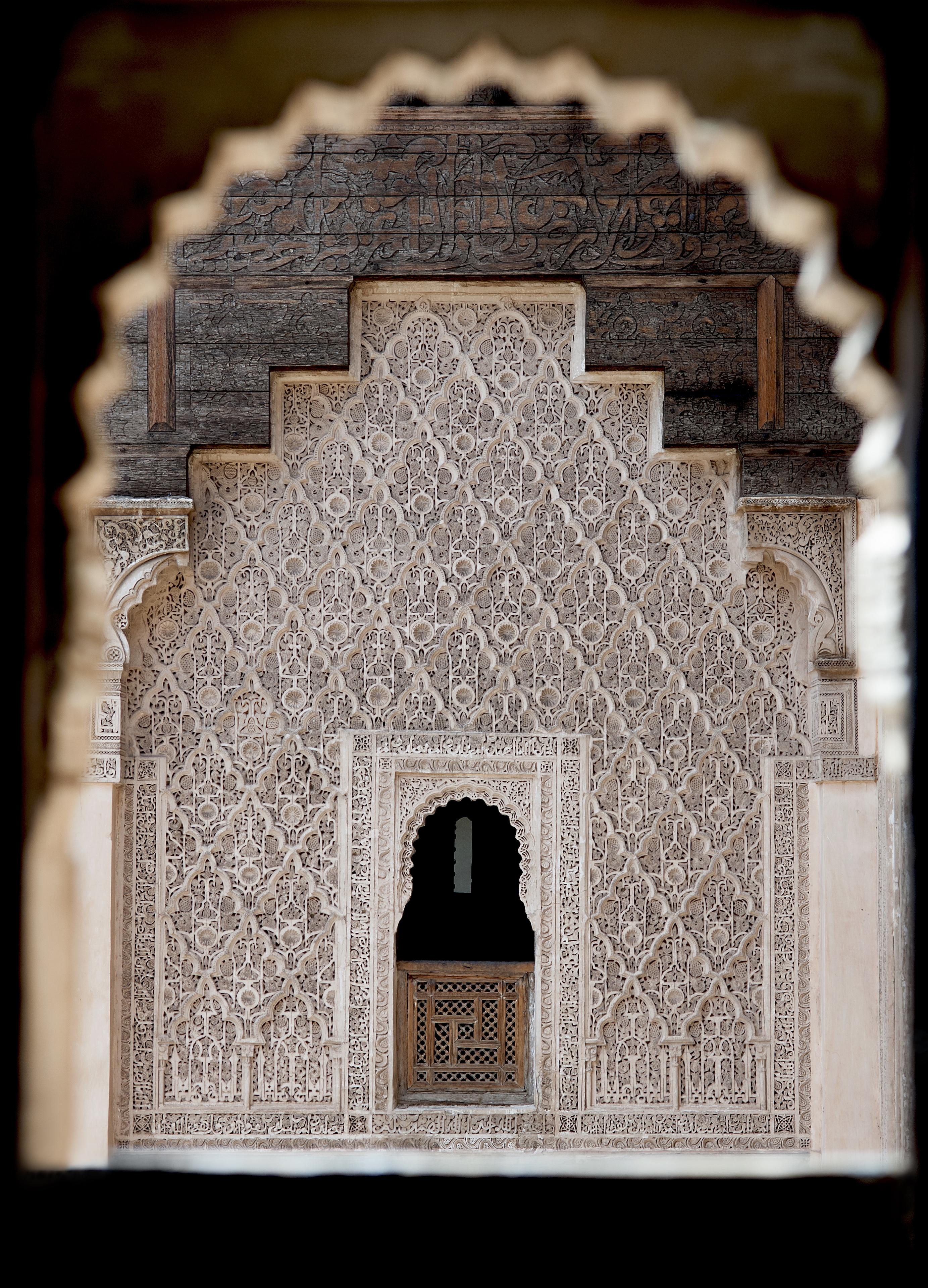 Window Ben Youssef Mosque