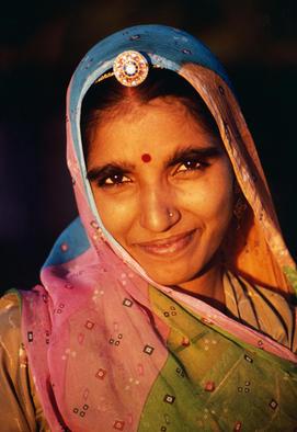 Dadar, Rajput woman, Rajasthan
