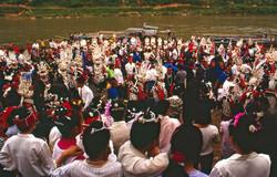 Miao women in silver headdresses Final