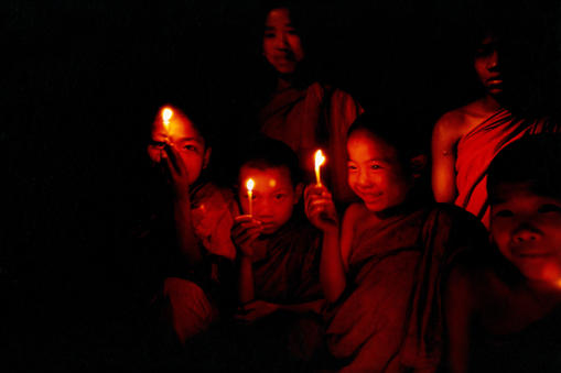 Boy monks Burma
