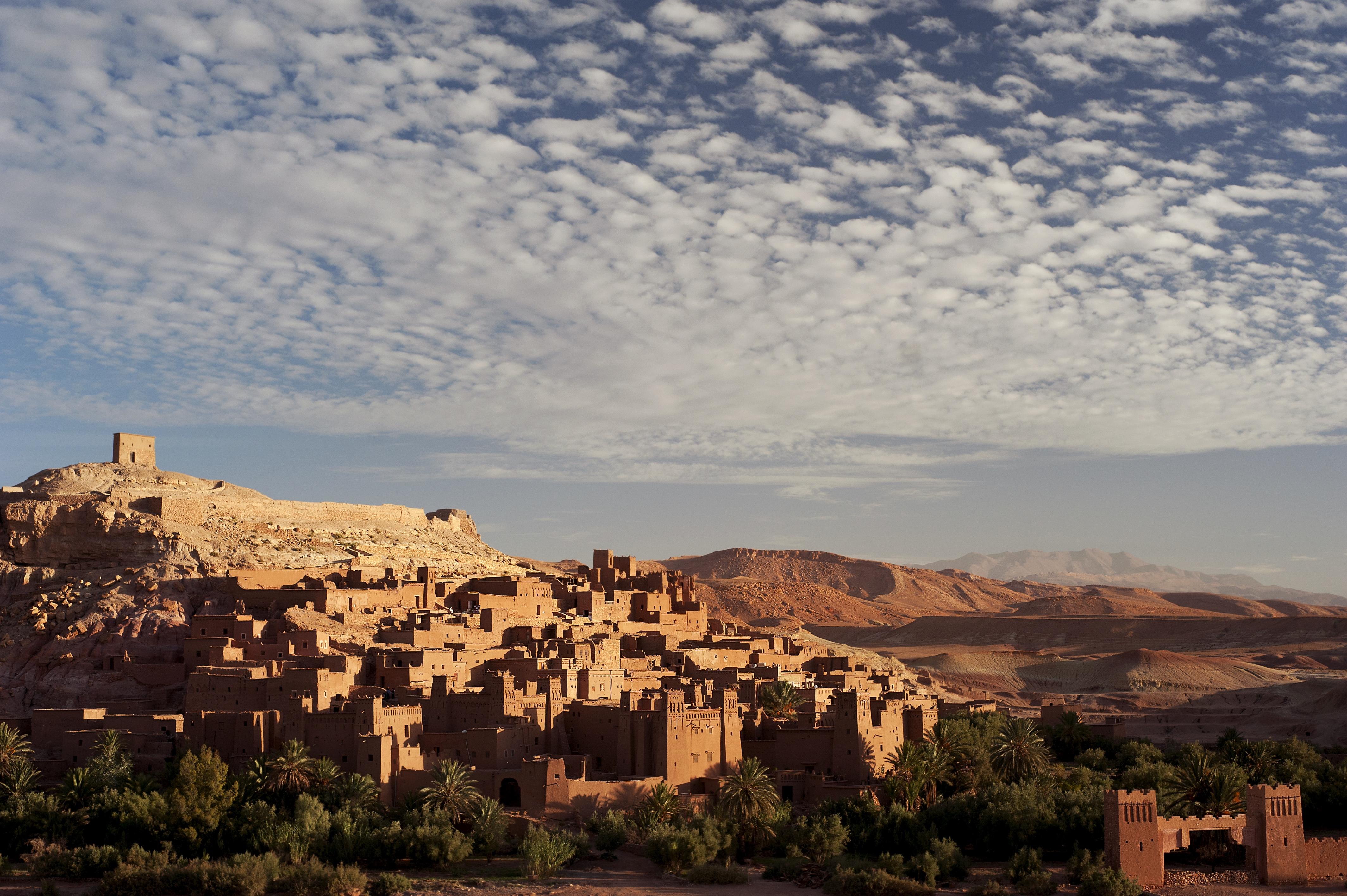 Ait Benhaddou at dawn