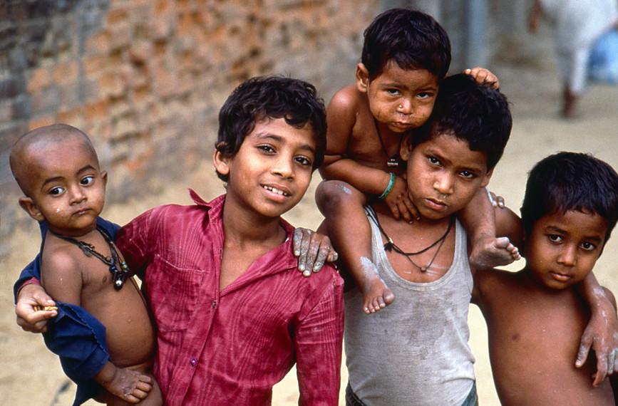 Chittagong street kids
