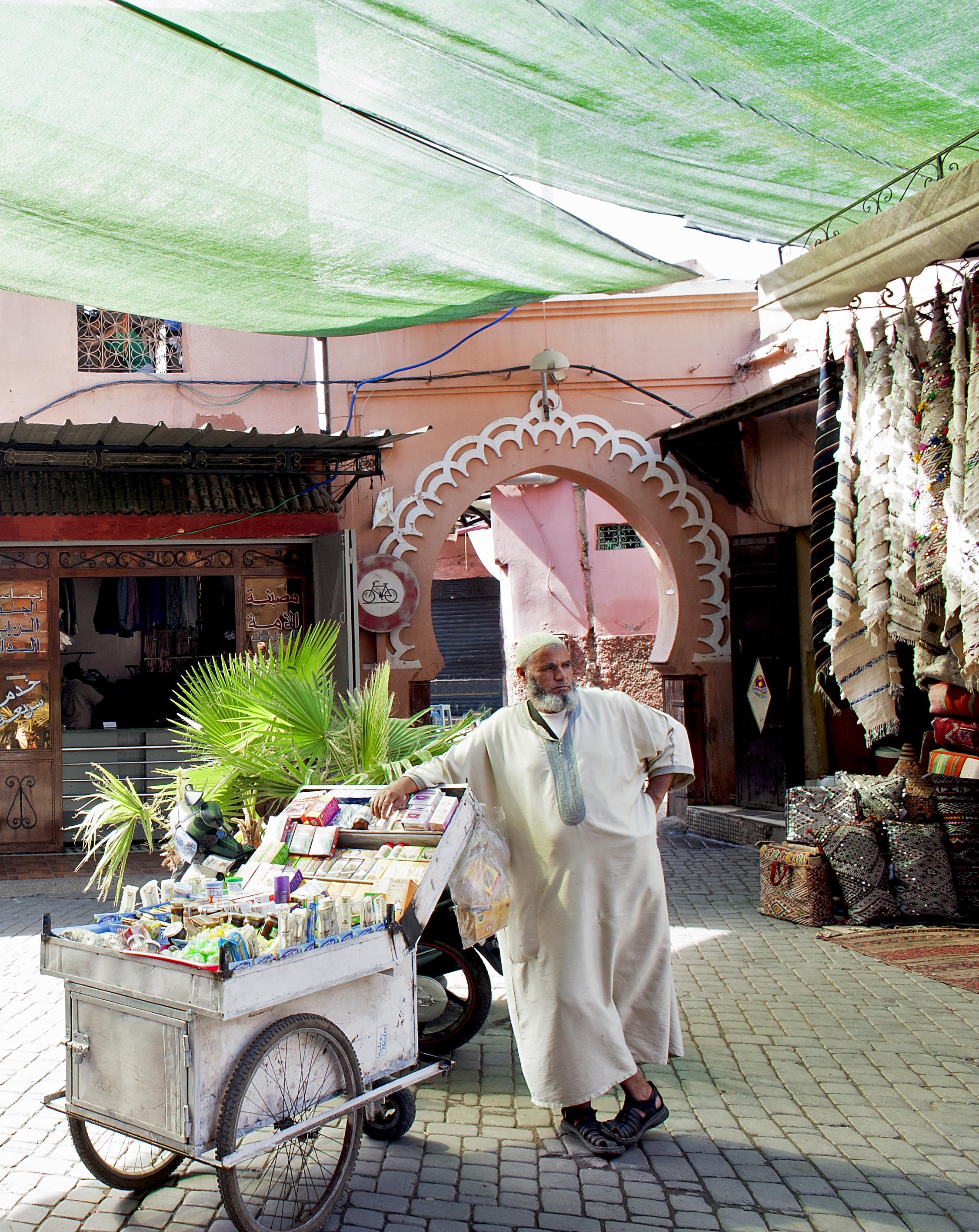 Marrakesh Shopkeeper