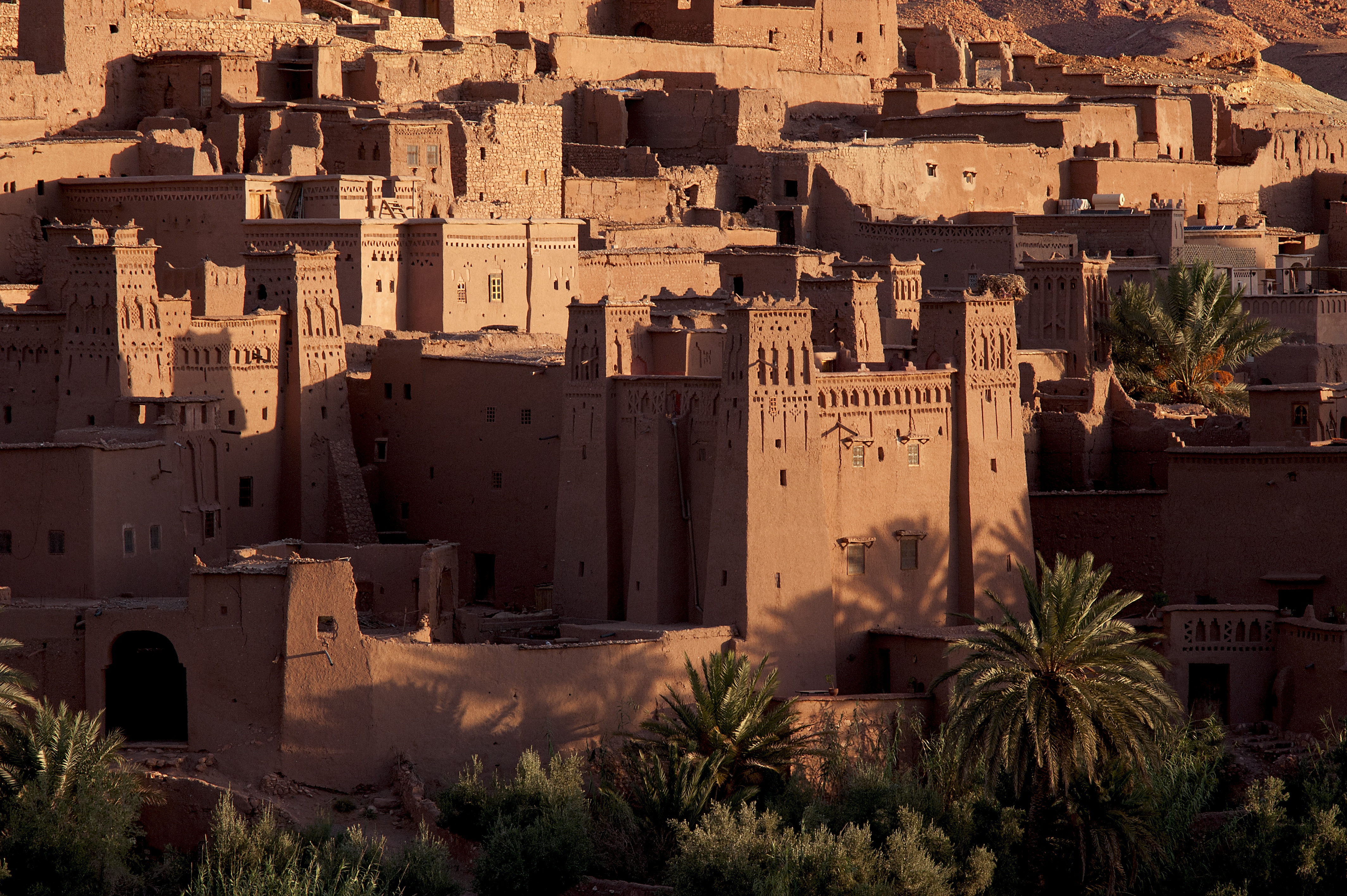 Ait Benhaddou fortified town and kasbahs
