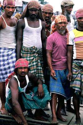Dock workers, Dhaka