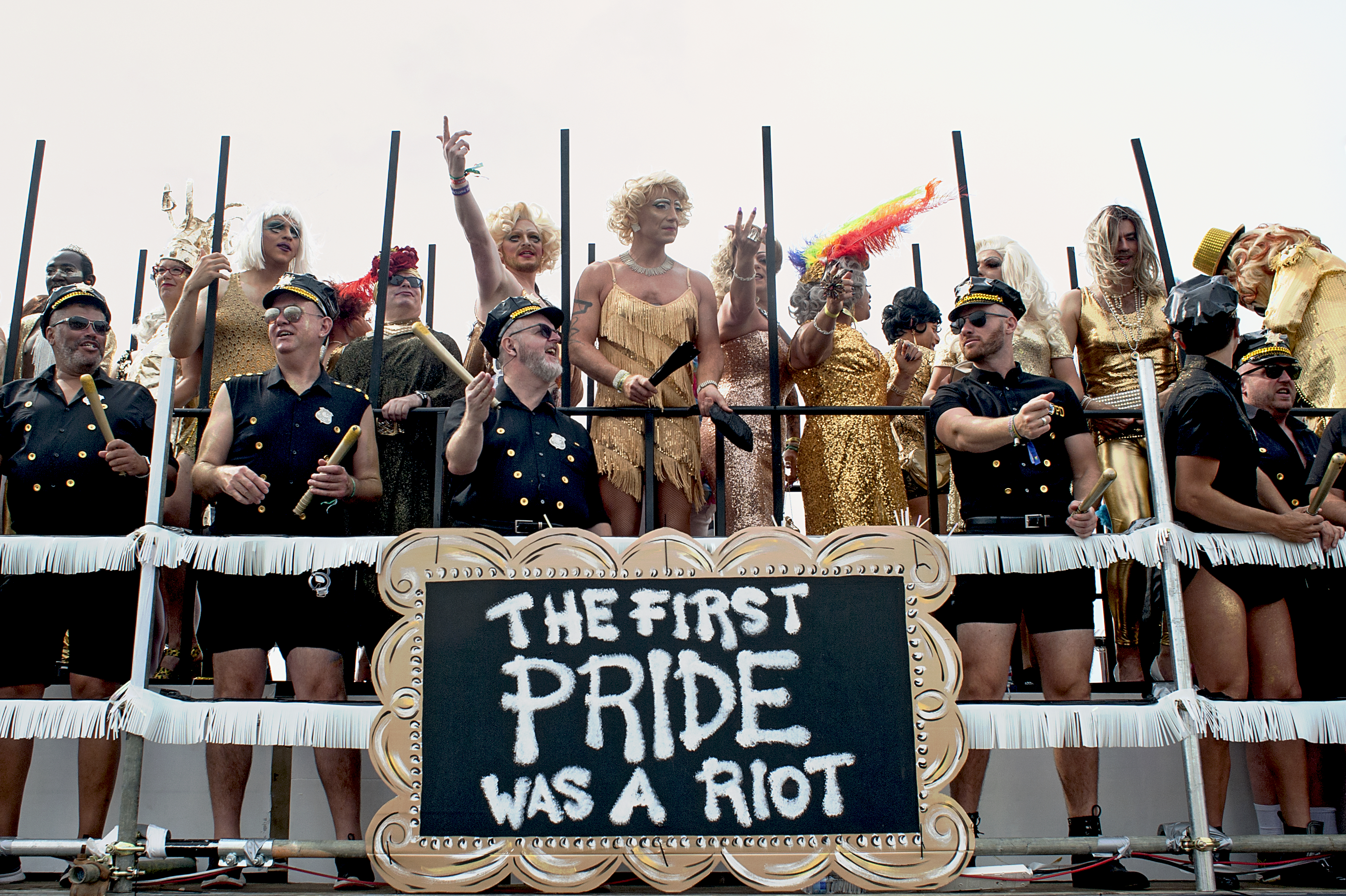 Pride Stonewall Float