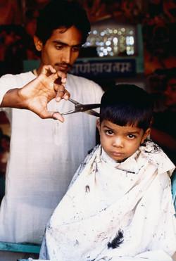 Boy's haircut Rajasthan Final