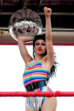 Trans disco dancer