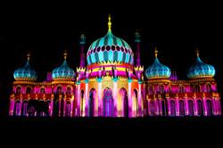 Pink & Cyan Pavilion
