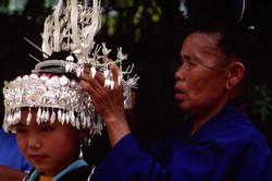 Miao girl in silver headdress Final