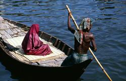 Boatman and Muslim Woman Final