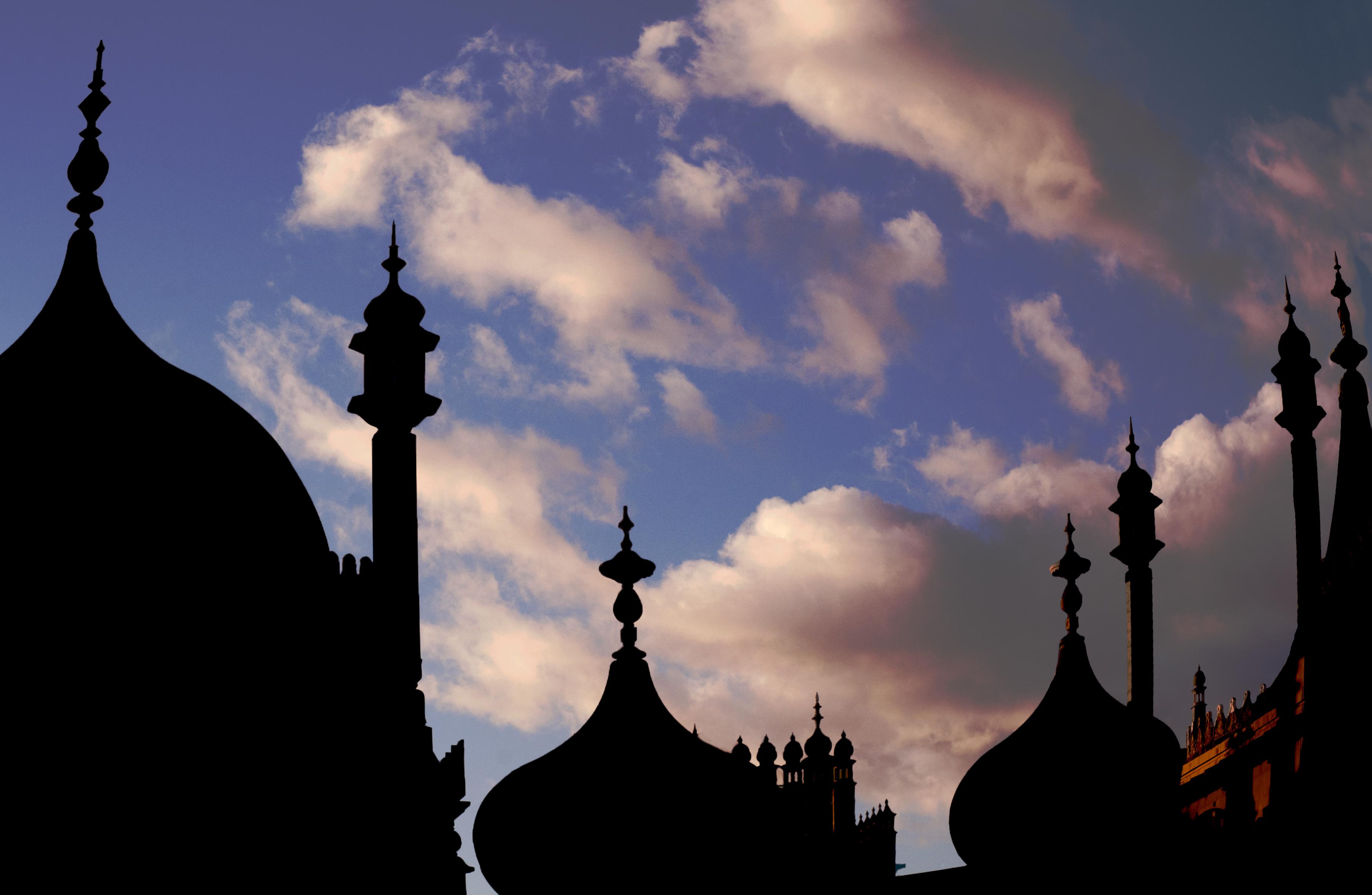 Royal Pavilion silhouette