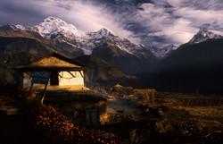 Annapurna & Fishtail view Final