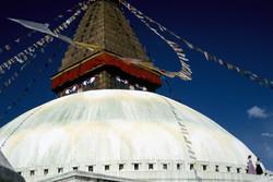 Boudanath stupa & prayer flags Final