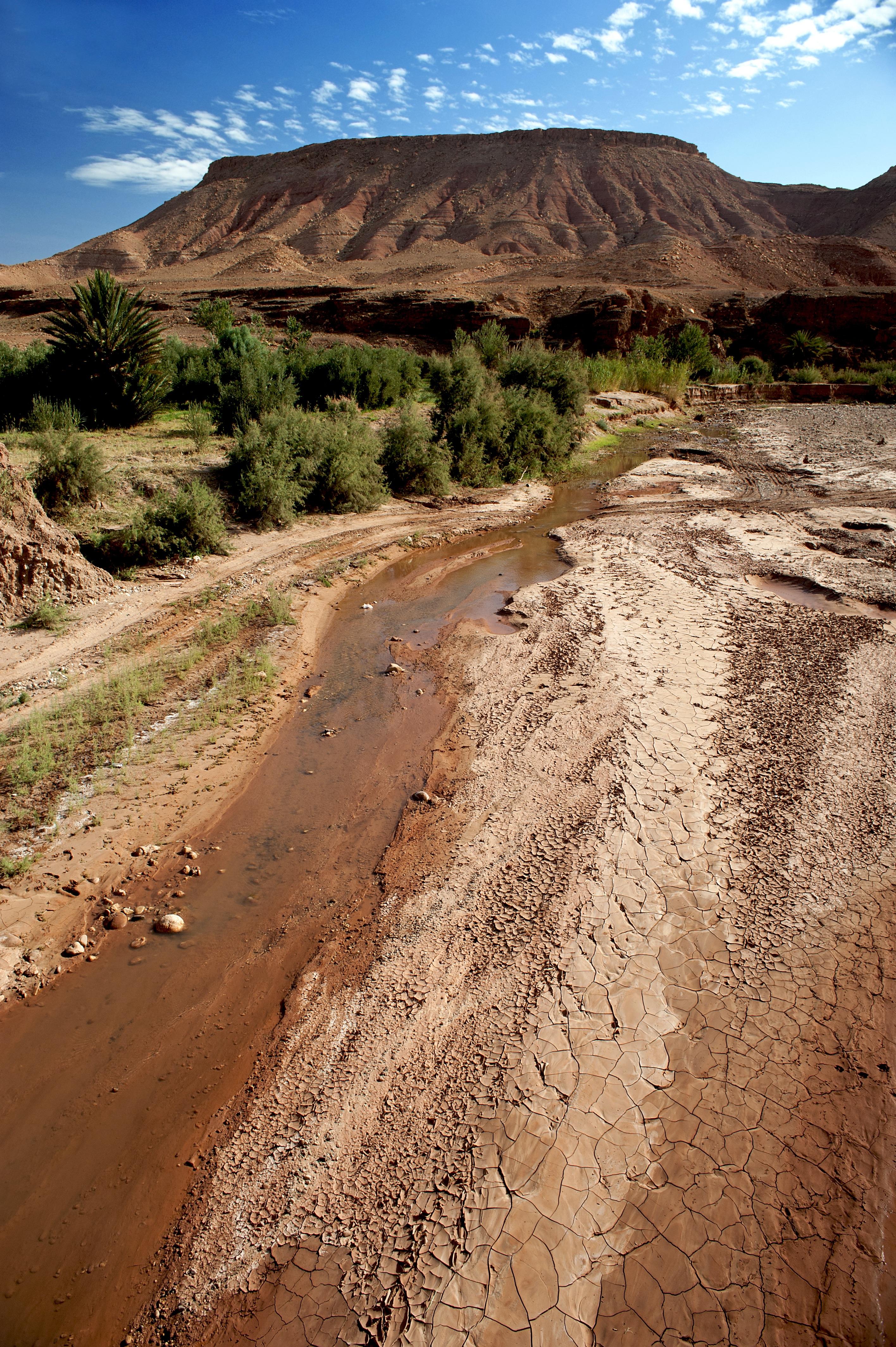 Atlas Mountain river bed