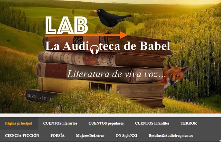 La Audioteca de Babel Producción Audiolibros