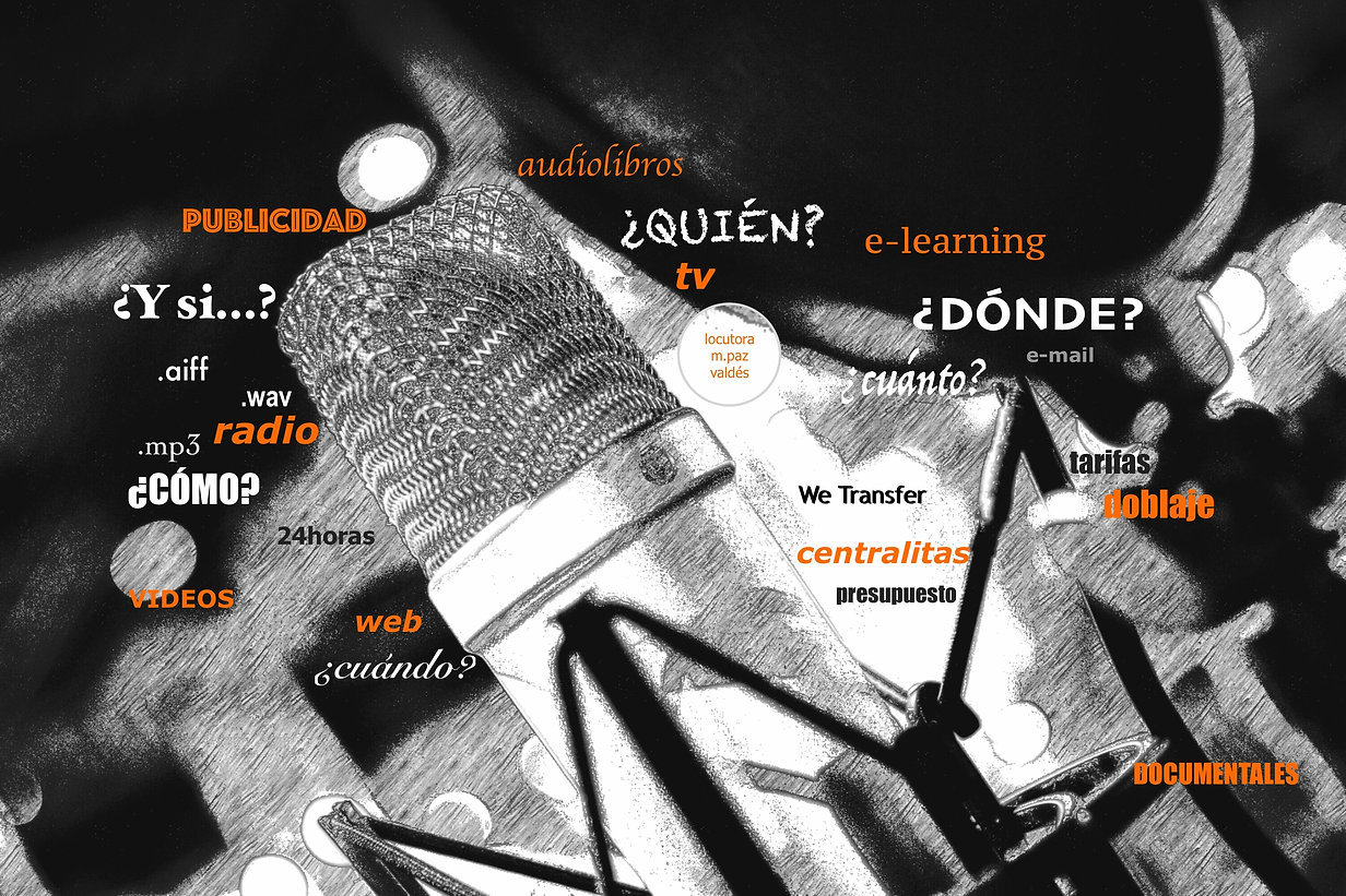 Locutora online/Spanish Voice Over