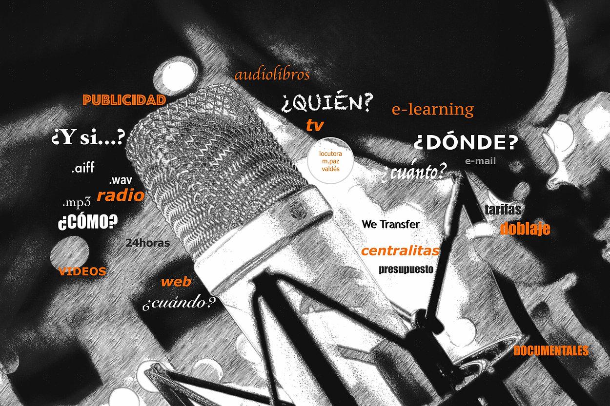 Locutora online/Spanish Voice Over