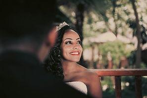 bride-enjoying-one-of-our-best teeth-whi