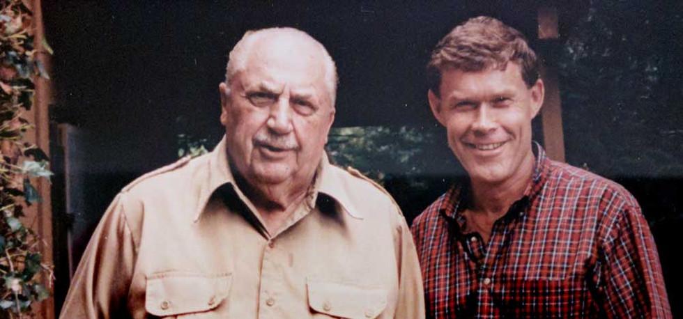 Jonathan McCormick and retired CIA operative Rex Applegate