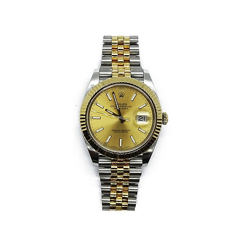 41MM ROLEX OYSTER PERPETUAL DATEJUST