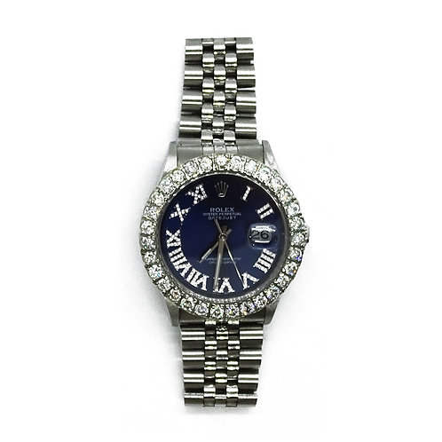 ROLEX OYSTER PERPETUAL DATEJUST 5.24ct DIAMOND 36mm