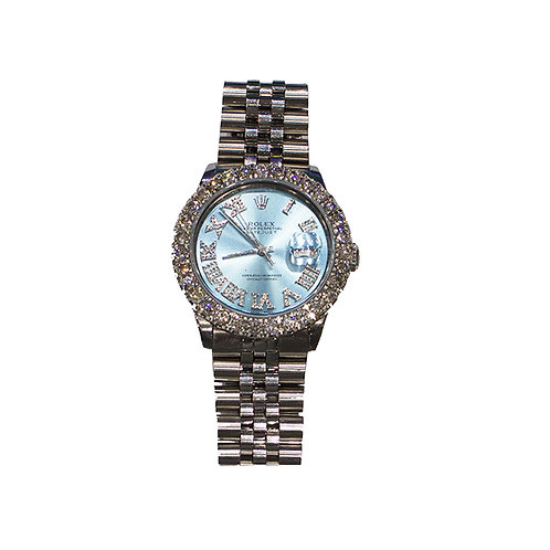 ROLEX OYSTER PERPETUAL DATEJUST I 5.68ct DIAMOND 36mm
