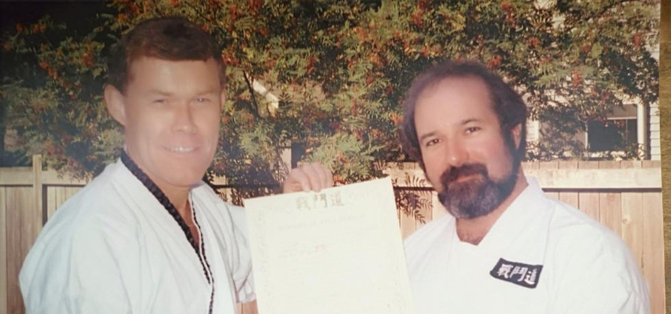 Jonathan McCormick and Professor Steiner