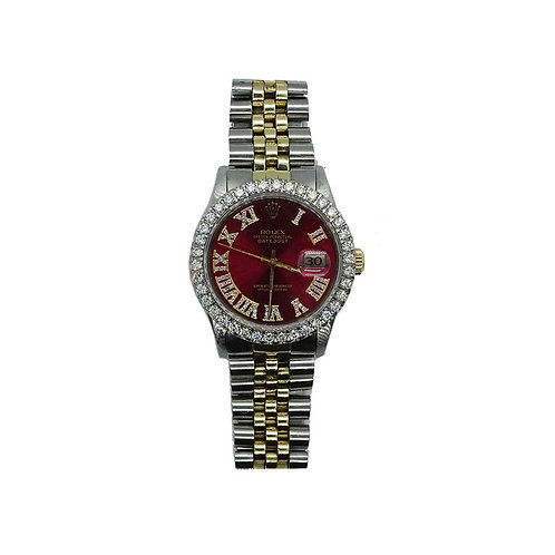 ROLEX OYSTER PERPETUAL DATEJUST 3.5ct DIAMOND 36mm