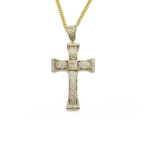 CROSS PENDANT GOLD / DIAMONDS PENDANT