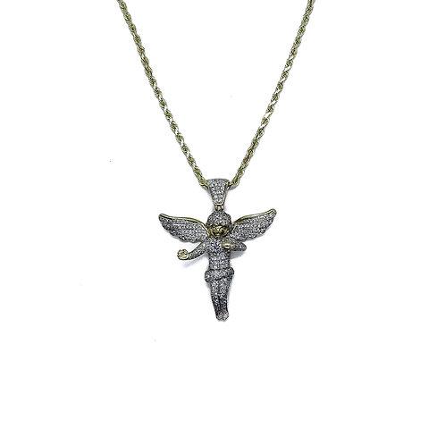 ANGEL GOLD/DIAMOND PENDANT