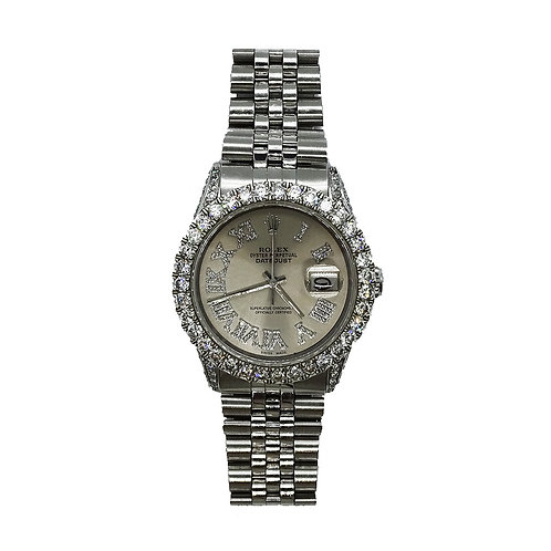 ROLEX OYSTER PERPETUAL DATEJUST I 5.06ct DIAMOND 36mm