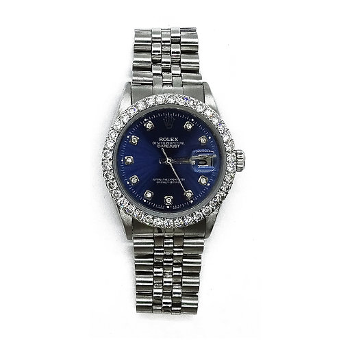 ROLEX OYSTER PERPETUAL DATEJUST 2.0ct DIAMOND 36mm