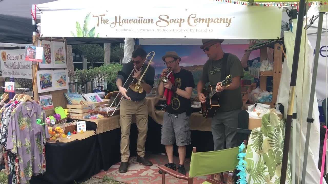 A little bit of New Orleans happened at The Hawaiian Soap Company today. We've been loving LocalShops1's St. Pete Tine Home Festival this weekend! No matter what, the party's always at hawaiiansoapco.
