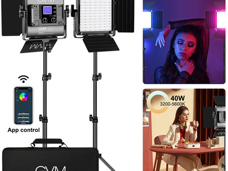 Lighting Equipment: GMV Lighting Equipment Set.