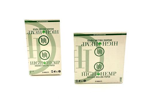 High Hemp Organic Rolling Papers