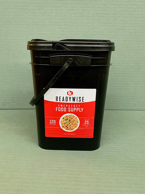 Ready Wise Entree Bucket (120 servings)
