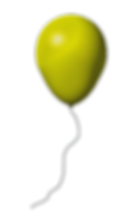 yellow-balloon-transparent-background.pn