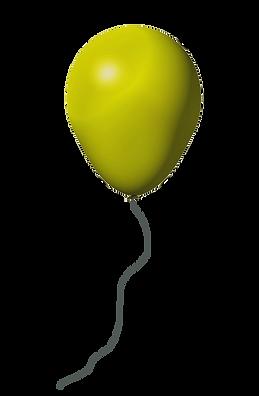 yellow-balloon-transparent-background.pn