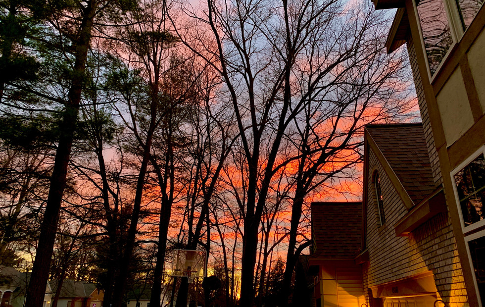 Sunset at Oak Ridge