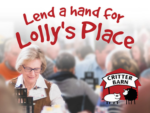 Lend a hand for Lolly's Place
