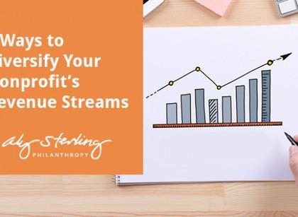 5 Ways to Diversify Your Nonprofit's Revenue Streams